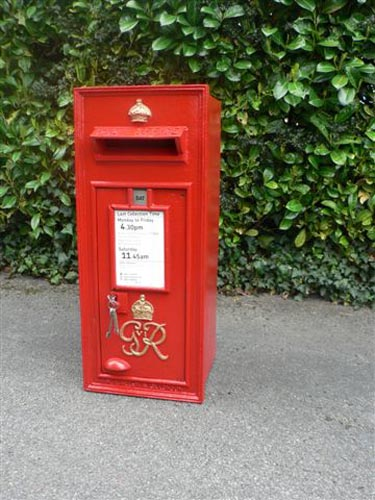 Chiltern Antiques An Antique Post Box Photo Gallery